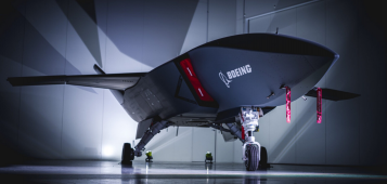 Boeing presents firts Loyal Wingman drone in history